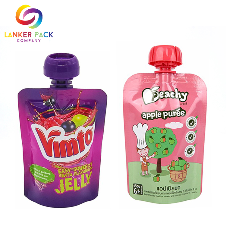 High Quality Laminated Plastic Baby Food Packaging Bag