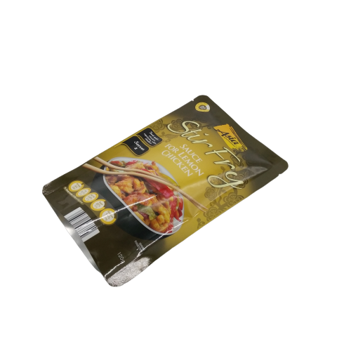 Custom Laminated Plastic Retort Pouches For Food Packaging